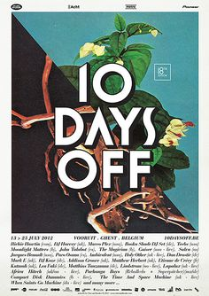 10 days off 2012 poster 01
