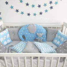 Error Genç Odası – home accessories Quilt Baby, Baby Boy Rooms, Baby Room, Baby Cot Bumper, Baby Elephant Nursery, Baby Shawer, Baby Swings, Cot Bedding, Baby Pillows