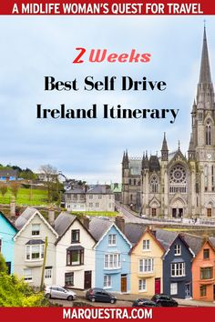 An epic Ireland itinerary from North to South exploring where to stop, what to see and do. G A perfect day-by-day Ireland self-drive tour planner >> Kilkenny Castle, Ashford Castle, Jameson Distillery, Driving In Ireland, Castles To Visit, Book Of Kells, Self Driving, Ways To Travel, Travel Information