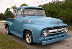 1956 Ford F100.  I used to own one of these...