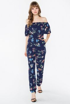 BLOOMING BRILLIANT JUMPSUIT – Luniden Crafts