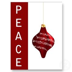#red #ornament #peace #holidays #christmas #greetings #elegant #festive by #mgdezigns