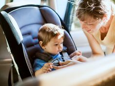 Tip: You need at least 1 inch of space between the top of your child's head and the top of the #carseat. Read more at Choosing the right car seat for your child... #parenting