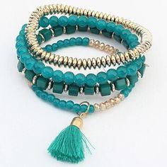 Nene's Ethnic Charm Bracelet For Moms