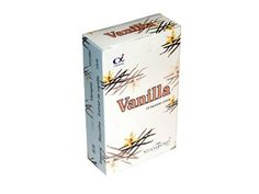 Stamford Vanilla Incense Cones:  15 Cones per Pack Made in India A great scent by Stamford Use for Prayers or Pleasure Packaging is recyclable