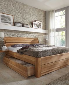 Fjord / Fjell seng