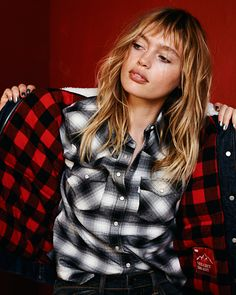 Check mate. The Trucker Jacket is the perfect partner for plaid. Get one for you and one as a gift this holiday season.