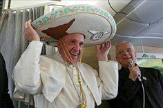 Papa Francisco llega a México