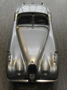 1952 Jaguar XK120.