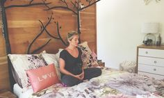 A Relaxing Yoga Sequence You Can Do In Bed