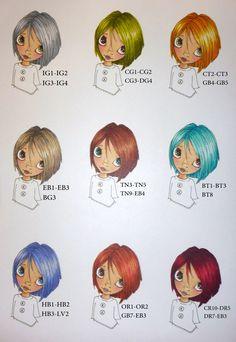 more hair colours part 2 in spectrum noir pen