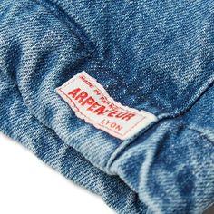 Arpenteur Short Denim Mevi Jacket (Indigo Washed Denim)