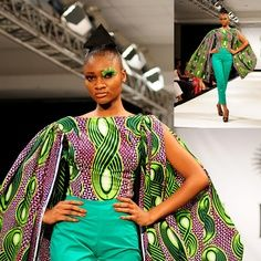 Love the vibrancy!!    Lookbook: Mina Evans for Vlisco Dazzling Graphics | CIAAFRIQUE ™ | AFRICAN FASHION-BEAUTY-STYLE