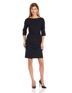 Pendleton Women's Petite Seasonless Wool Park Avenue Dress #workdresses