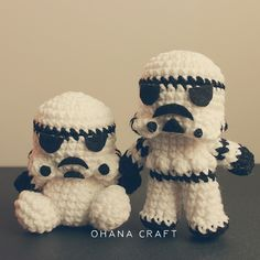 Storm Trooper Crochet Amigurumi by Ohana Craft https://www.facebook.com/OhanaCraft/