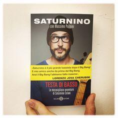 #Saturnino Saturnino: Testa di Basso - IL LIBRO dal 12 Marzo dappertutto ❤️ @massimo_poggini