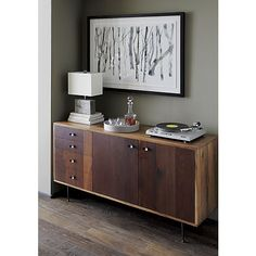 Flynn Sideboard for living room | Crate and Barrel |