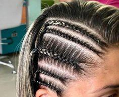 modern side braid hairstyles for women 24 ~ thereds. Hair Tutorials For Medium Hair, Medium Hair Styles, Curly Hair Styles, Natural Hair Styles, Sporty Hairstyles, Side Braid Hairstyles, Everyday Hairstyles, Hair Supplies, Braids For Long Hair