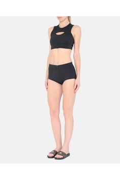 6c9c3c22893d8 Black Triathlon Crop by adidas by Stella McCartney at ORCHARD MILE