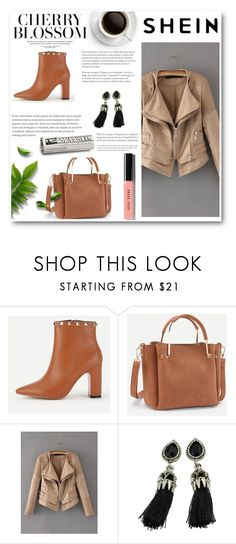 """// SHEIN // 9/XV"" by nura-akane ❤ liked on Polyvore featuring Bobbi Brown Cosmetics and modern"