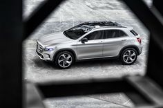 Fabulous Mercedes Benz GLA compact luxury SUV 2.0L, 4 cylinder engine with 7 speed dual clutch transmission producing 208hp and 258lb-ft of torque