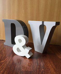 Decorative letters wooden letters custom decorative letters solid colors wall decor wood freestanding Nursery letters bedroom Letters Playroom Letter