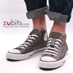 Amazon.com : Zubits - magnetic shoe closures - Size #1 Kids / Size #2 Adults / Size #3 Lg. Adults/Sports - Never Tie Laces Again! : Shoes