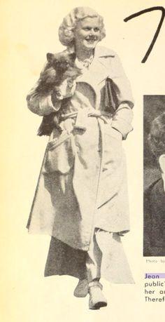 With baby Oscar, c. 1935.