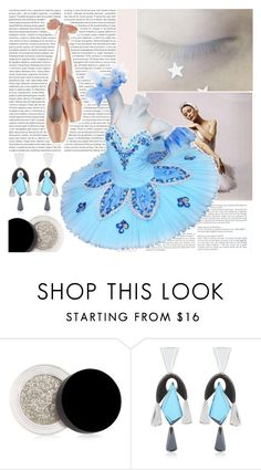 """Shine Like A Star (Comp)"" by emerald-writer-girl ❤ liked on Polyvore featuring Oris, Inglot, Silvia Rossi, Blue, Silver, ballet and challenge"