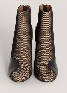 3.1 Phillip LimFrancis mesh-panel leather boots