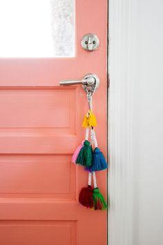 how cute is this little door hang | ban.do