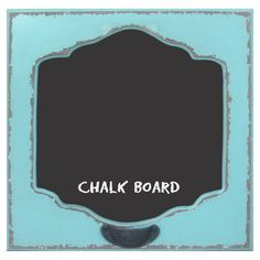 Effortlessly scribble phone numbers and recipes on this charming chalkboard, crafted from wood and showcasing a blue finish.  Produc...