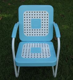 I own an entire set of these with a glider. I sooo need to restore them! offered on eBay for $145.00