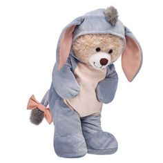 Online Exclusive Happy Hugs Teddy Disney Eeyore Gift Set, , hi-res Eeyore Gifts, Teddy Bear Gifts, Cute Stuffed Animals, Cute Plush, Build A Bear, Disney Winnie The Pooh, Cute Icons, Art Dolls, Cute Gifts