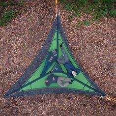 Trillium Hammock Tent: Black Mesh from Hammock Town