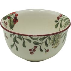 Better Homes and Gardens Heritage Berry Bowl, Set of 6, Multicolor