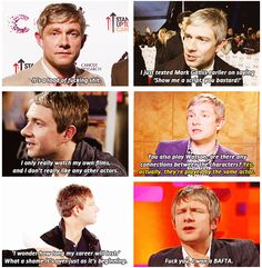 Martin Freeman is my favourite everything
