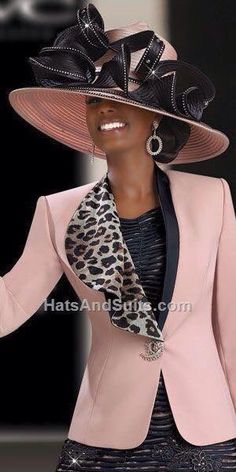 If you're looking for Donna Vinci Hats, this is the place to be! Donna Vinci Couture Hats will make you experience great and one of a kind in Church! Church Suits And Hats, Church Attire, Church Hats, Church Outfits, Church Clothes, Church Fashion, Stylish Hats, Fancy Hats, Kentucky Derby Hats