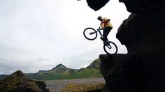 Try not to be blown away by these Iceland biketrials tricks