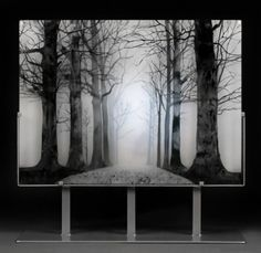 paul messink: ghostly glass panels