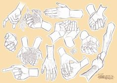 DeviantArt: More Collections Like LearnManga Basics Hands Part 1 by Naschi