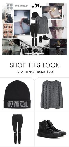 """""""DAY 13. FAVORITE K-POP MUSIC VIDEO (30 Day K-Pop Challenge)"""" by coupsmin ❤ liked on Polyvore featuring Vans, La Garçonne Moderne, Topshop, Converse, women's clothing, women, female, woman, misses and juniors"""