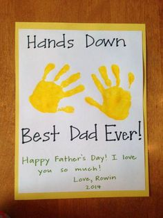 Homemade Fathers Day Card Ideas (10)