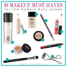 10 makeup must-haves for every woman