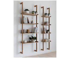 Mit Wandregal Wall in Braun von INTERSTIL DÄNEMARK verwandeln Sie Ihr Wohnzimmer in eine Wohlfühloase. Entdecken Sie weitere hochwertige Möbel auf >> WestwingNow.