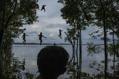 La tribu amazonienne Munduruku. (Mauricio Lima / World Press Photo)