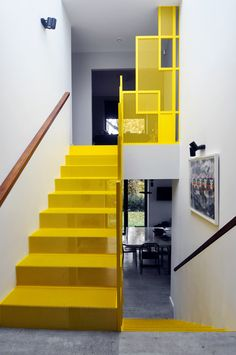 M&P'S NEW STAIRCASE FILMED FOR THE NEXT SERIES OF CHANNEL 4'S GRAND DESIGNS. BY DESIGN+WELD.