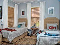 Cute Twin Bedroom