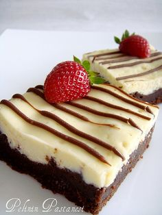 PelinChef: BROWNİ CHEESECAKE