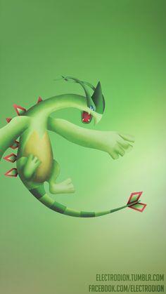 Smartphone Wallpaper #Pokemon #Fusion #Lugia #Flygon #Pokefusion